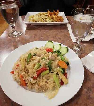 Lisbon, NH: Riso thailandese con verdure