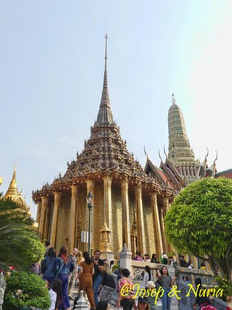 Phra Mondop at Emerald Buddha Temple