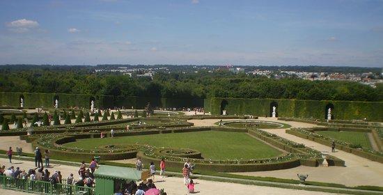 vista de los Jardines de Versalles