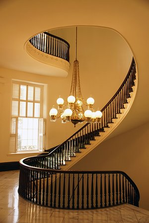 Winding Staircase.