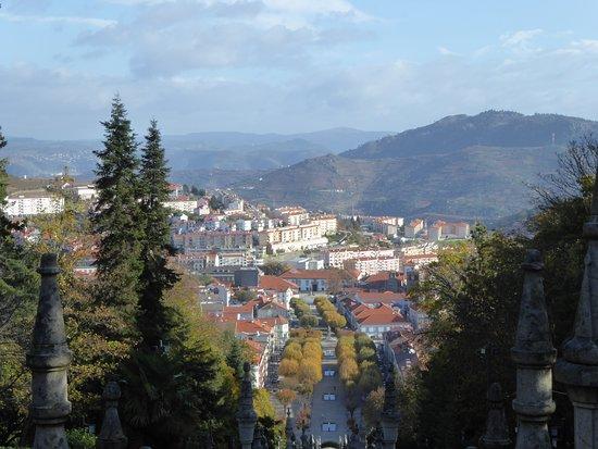 Douro Splendour: Lamego from the sanctuary.