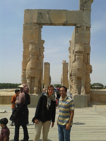 Persepolis Lies At The Foot Of Kuh E Rahmat Mountain Of Mercy In The Plain Of Marvdasht It Was The Capital Of Achaemenid Empire Of Great Persia Founded By Darius I In 518