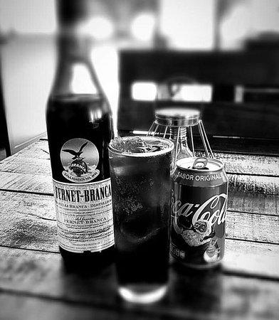 Fernet Branca con Coca-Cola, estilo ARGENTINA !
