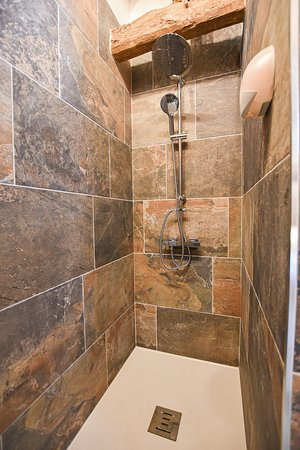 salle de bain chambre industrielle