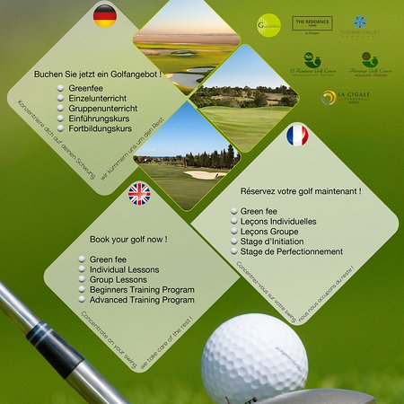 Nabeul, ตูนิเซีย: Tunisia Golf Trip @ your service for a nice game