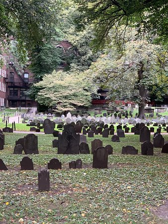 Granary Burying Ground--Tremont St.--Boston, MA