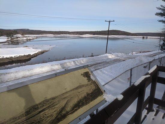 View from the reservoir observation platform
