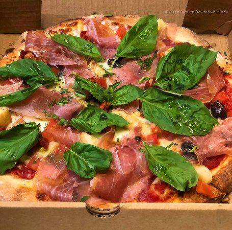 Our Rustica special Pizza