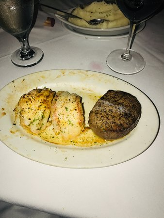 I had the surf and turf.  someday I'll find that done with Maine Lobster but not yet