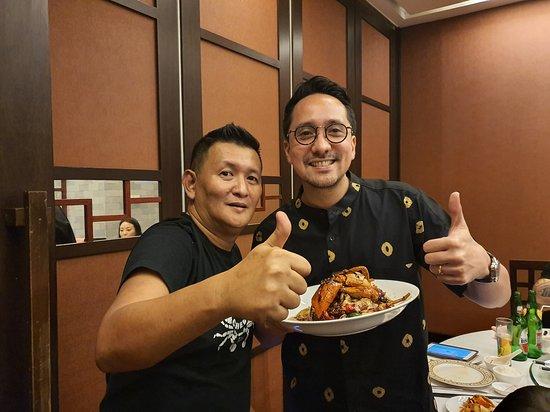 Flying chef @ Grand Sahid Jaya JKT