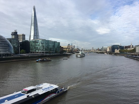 View from the top of the tower bridge