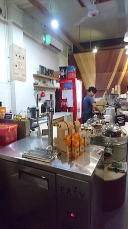 地道特色咖啡店環境