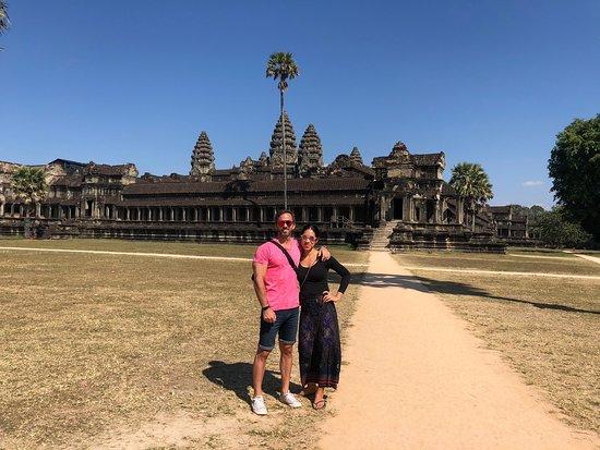 תמונה מAngkor wat sunrise and Banteay Srei temple Private Day tour