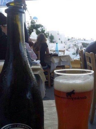 Santorini, Grecia: Skala Restoran