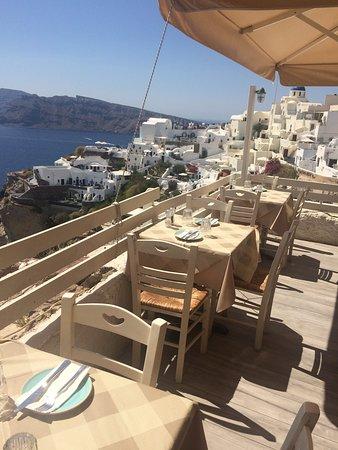 Santorini, Grecia: Thalami Restoran - Oia