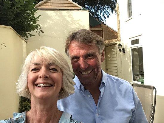 Raymonds Hill, UK: My husband and I