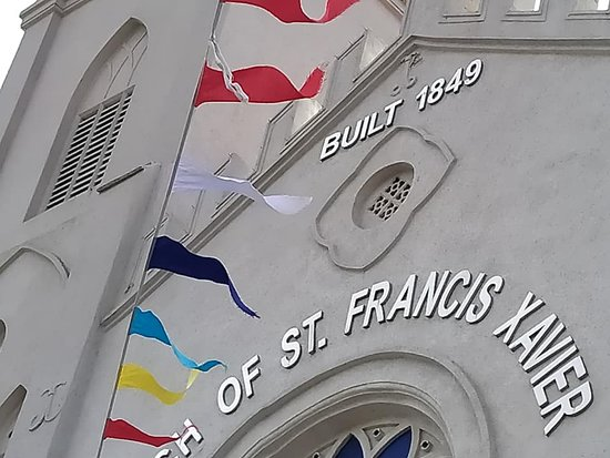 Church of St Francis Xavier  Built 1849