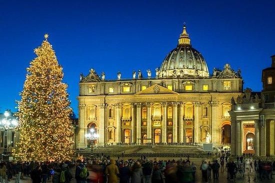 Tour a piedi di Natale e benedizione