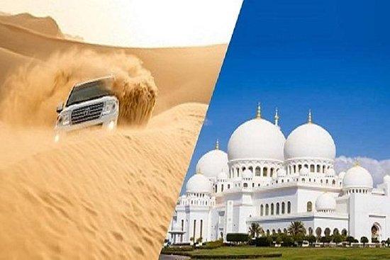 Abu Dhabi City Tour met avondwoestijn ...