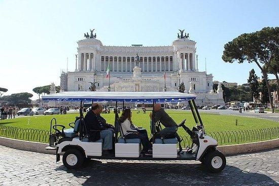Electric Cart Tour Rome - Private Tour