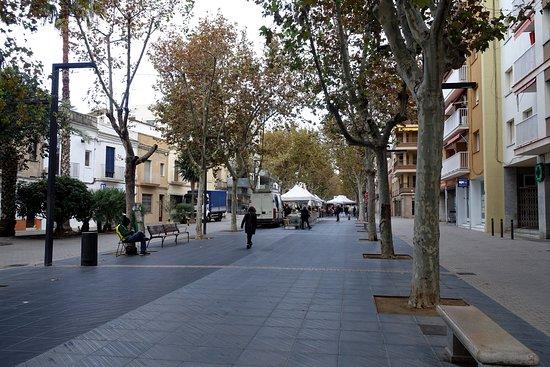 Rambla Principal, Vilanova i la Geltru