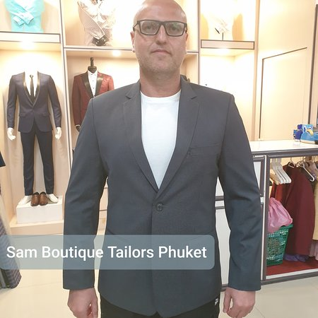 Best and happy customers from South Africa. Denim and Cashmere blazers made @samboutiquetailors