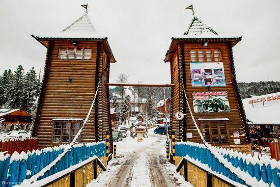Myhove, Ucrania: Головний в'їзд ГТК Мигово
