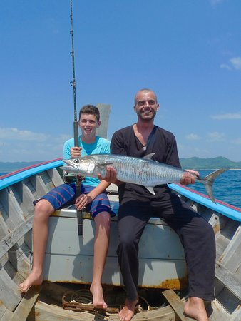 We even let our regulars and favourites catch their own dinner :)
