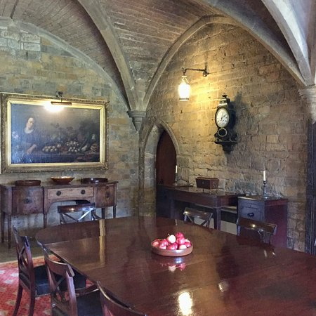 Broughton Castle: The Dining Room