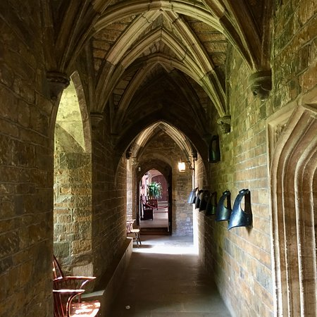 Broughton Castle: The Groined Passage