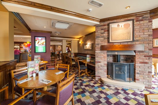 Brewers Fayre restaurant interior