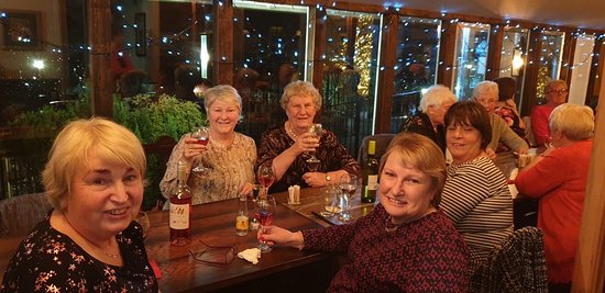 Everyone having a fantastic night at the Britannia Inn Halkyn on our Xmas party Saturday 7th Dec 2019. Fab food, fab hospitality, an fab people who attended.