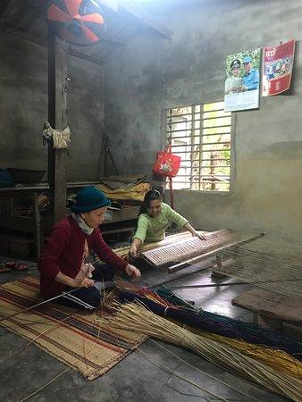 Sleeping mat-making