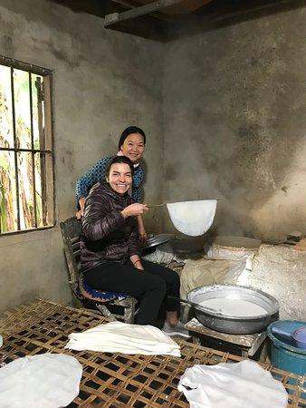 Rice-paper making