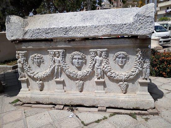 Alexandria, Egypt: sarcofago