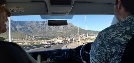 On the road - Table Mountain view