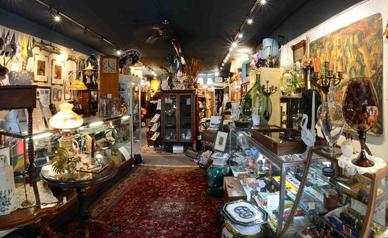 Titusville, Floride : Five Katz Antiques - Interior - fisheye lens