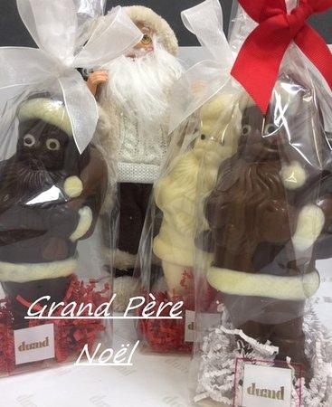 Grand Pere Noel Grand Père Noël garni de friture maison, sans colorants ni