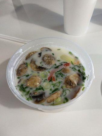 Chicken Tom Kha soup