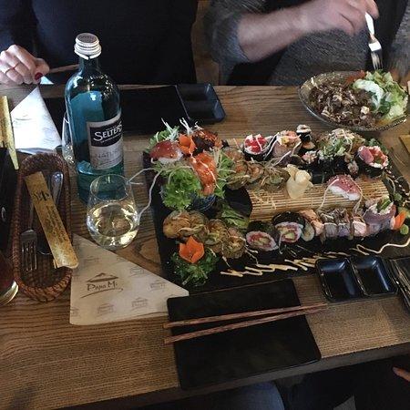 Een van de beste sushi die we ooit gegeten hebben