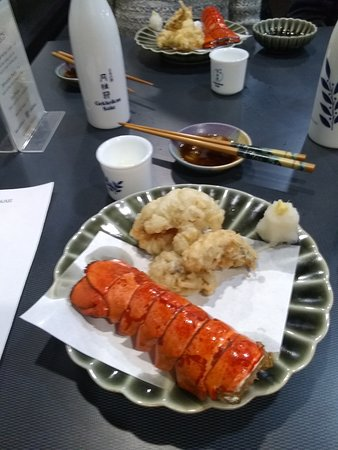 Lobster Tail tempura