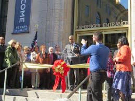 Newark Museum Ribbon Cutting Ceremony