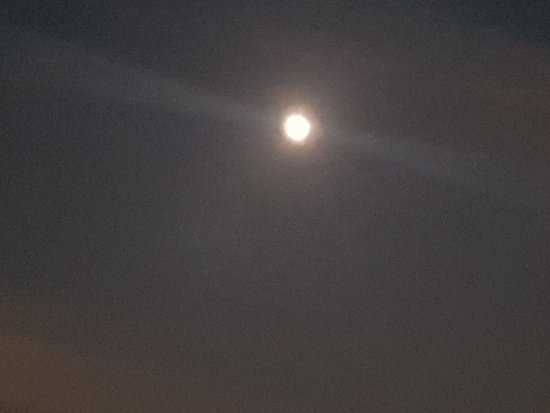 Pavia, İtalya: la luna