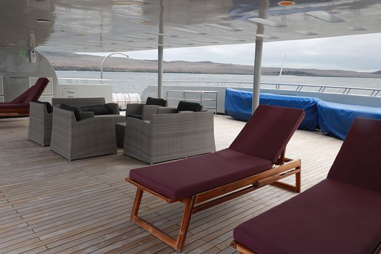 Sun Lounge on 3rd floor of M/T Camilla