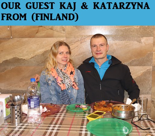 OUR GUEST FROM (FINELAND)