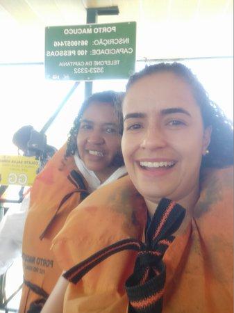 Macuco Safari - Unforgettable Adventure at Iguazu Falls: Preparação pré passeio de barco
