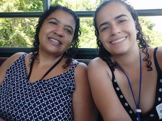 Macuco Safari - Unforgettable Adventure at Iguazu Falls: Após o passeio, subindo no funicular