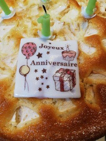 Anniversaire Playbox: les gâteaux sont fait par nos partenaires artisans locaux !!!