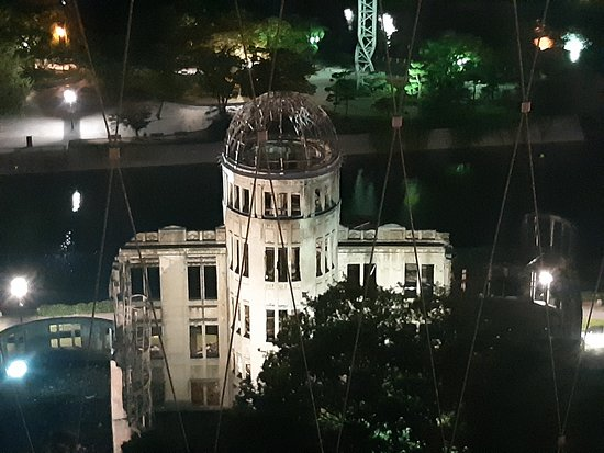 vista dall'alto dell'Atomic Bomb Dome