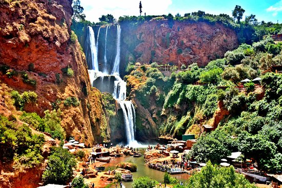Ouzoud Falls Day Trip from Marrakech: Ouzoud Fall Hike, its worth the trip out there.
